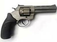 """Револьвер под патрон Флобера Stalker 4.5"""" титан/чёрная рукоять. Пистолет Флобера Stalker."""