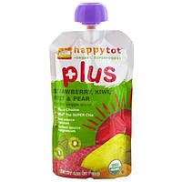 Nurture Inc. (Happy Baby), Happytot, смесь фруктов и овощей, Plus, клубника, киви, свекла и груша, 4.22 унции (120 г)