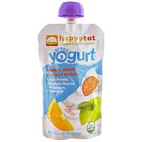 Nurture Inc. (Happy Baby), Happytot, Organic Superfood, греческий йогурт, апельсин, яблоко и батат, 120 г