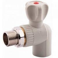 Кран радиаторный угловой ппр 25х3/4 ASG-Plast (Чехия)