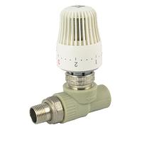 Кран радиаторный угловой термостатический ппр 20х1/2 ASG-Plast (Чехия)