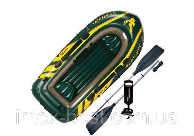 Надувная лодка  Intex 68380 (SEAHAWK-300), фото 2