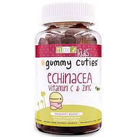 Natural Dynamix, Жевательные милашки с эхинацеей, витамином C и цинком, для детей, 60 штук