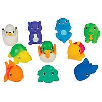 Munchkin, Игрушка Брызгающие озерные друзья, 9 мес. и старше, 10 брызгалок