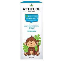 ATTITUDE, Little Ones, детский крем под подгузник с цинком, без ароматических отдушек, 2.6 унций (75г)