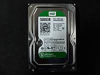 Жесткий диск HDD Western Digital Green 500GB 5400rpm 64МB WD5000AZRX 3.5 SATA III , фото 1
