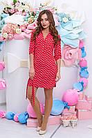Платье А 29 (бант красный)