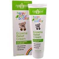 Natralia, Счастливые малыши, Eczema , успокаивающий крем, 2 унции (56 г)