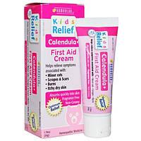 Homeolab USA, Kids Relief, Детский заживляющий крем с экстрактом календулы, 1,76 унции (50 г)