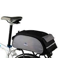 Сумка для велосипеда ROSWHEEL велосумка велосипедная сумка на багажник