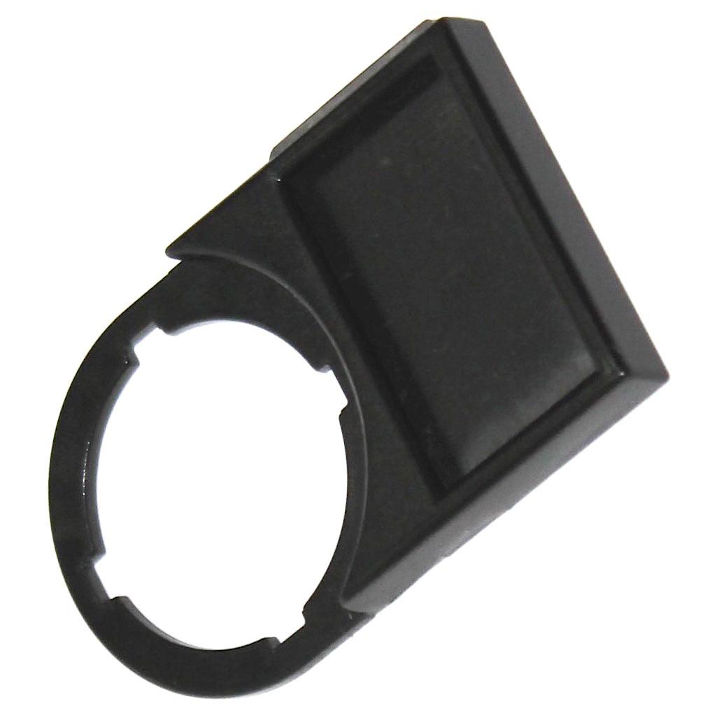 Шильдик, рамка для надписи для индикатора, кнопки, переключателя