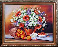Набор для вышивки бисером Фруктово-цветочный пунш Б-289