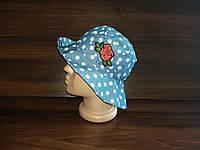Панамка-шляпка детская рванка дышащая