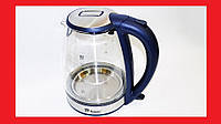 Электрочайник Domotec MS-8111 чайник стекло  2200Вт 2Л