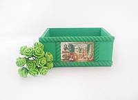 Ящик малый светло-зеленый
