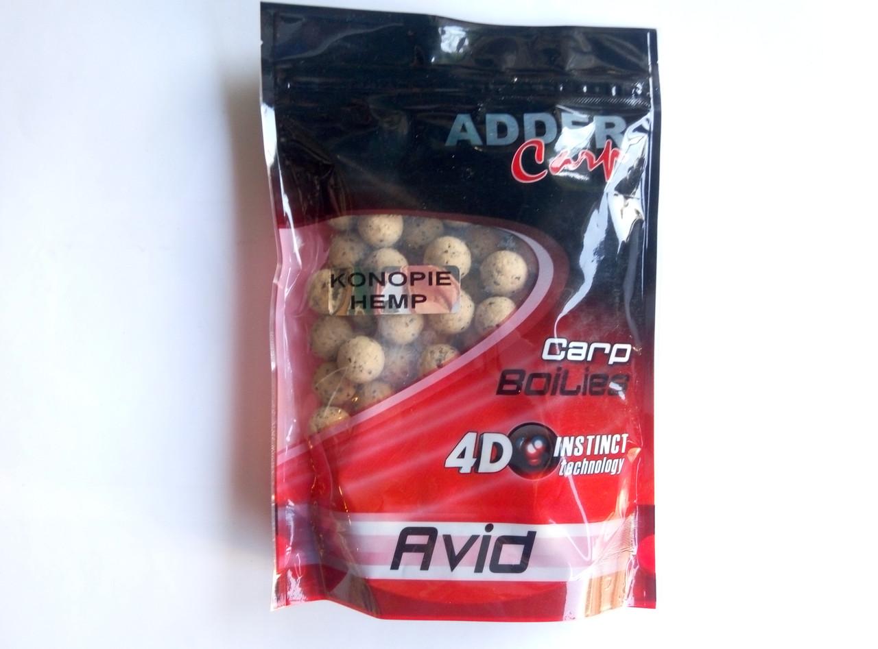 Бойлы Adder Carp Avid 16мм (конопля)
