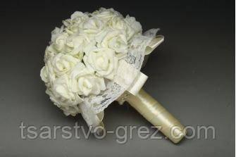 Букет айвори розы