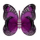 Крылья Бабочки пятнистые малиновые 42х48см