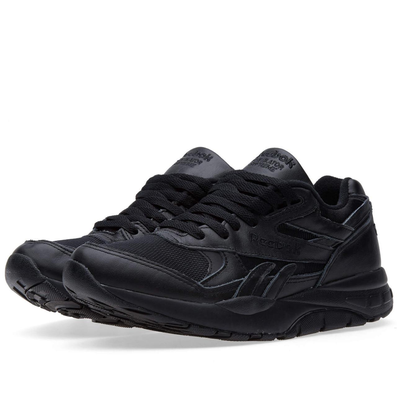 Кроссовки Reebok Ventilator Black Черные мужские