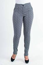 Молодёжные брюки чёрно-белого цвета 44 46 48 50 52 54 56