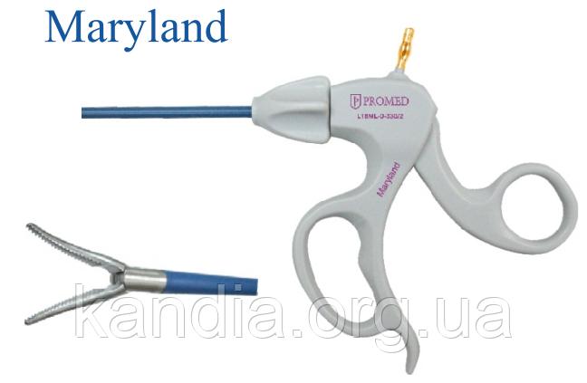 Лапароскопические рассекающие щипцы Maryland без фиксатора