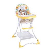 Детский стул для кормления Bertoni Bravo Yellow Daisy Bears