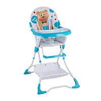 Детский стул для кормления Bertoni Bravo Blue Hello Bear