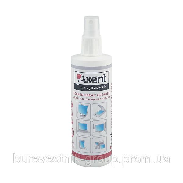 Спрей для очистки экранов Axent, 250 мл