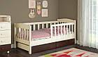 Подростковая кровать Ассоль с бортиком 70*160 ваниль, фото 7