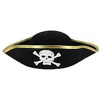 Шляпа Пиратская треуголка взрослая