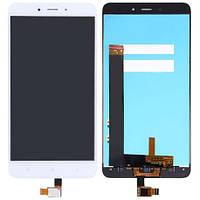 Дисплей (экран) + сенсор (тач скрин) Xiaomi Redmi Note 4 white (оригинал)