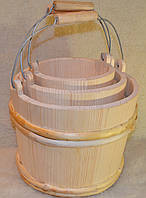 Відра дерев`яні для сауни і бані .