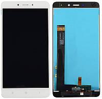 Дисплей (экран) + сенсор (тач скрин) Xiaomi Redmi 4 white (оригинал)