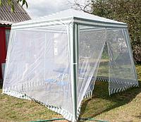 Садовый павильон  с москитной сеткой и молниями 2.4 (3x3 м)