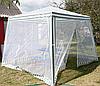 Шатер садовый 3х3 метра со стенами из москитной сетки