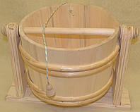 Відро дерев`яне для сауни і бані  - Водоспад.