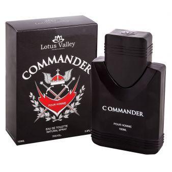 Мужская туалетная вода Commander 100ml. Lotus Valley