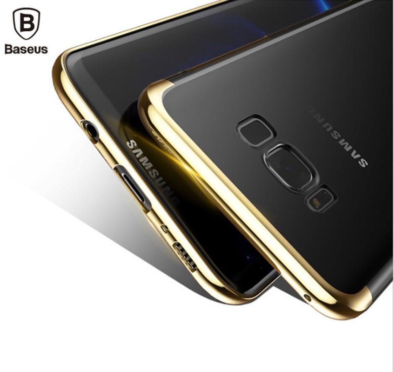 """Samsung G950F S8 оригинальный чехол панель накладка бампер защита 360* ПРОЗРАЧНЫЙ КРИСТАЛЛ """"BASE"""""""