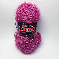 Пряжа metalica Lanoso - цвет фуксия