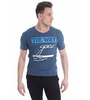 Модная стильная мужская футболка The Way - Украина, разные цвета