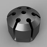 Фрезерная пятиосевая обработка металла ЧПУ