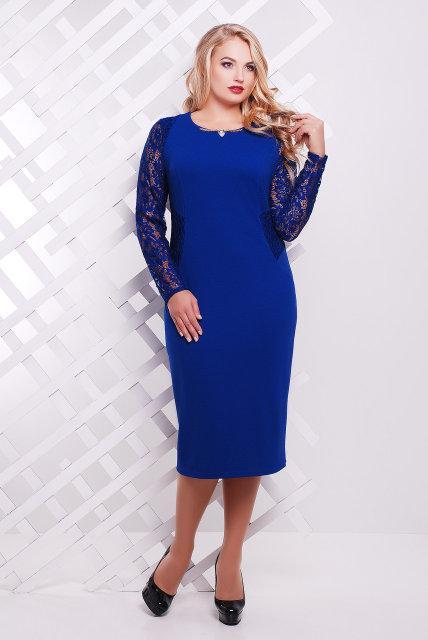 Красивое платье батал с 48 по 58 размер