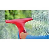 Вакуумний очищувач для скла Vileda Windomatic (безпровідний скребок для вікон Віледа), фото 4