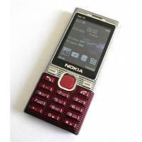 Кнопочный телефон Nokia Asha 102 MP3 2 Sim Металлический