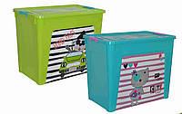 "Алеана Контейнер для хранения ""Smart Box"" с декором 27л"