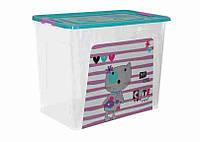 "Алеана Контейнер ""Smart Box"" с декором 40л. Pet Shop"