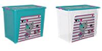 """Алеана Контейнер для хранения """"Smart Box"""" с декором 40л. Pet Shop"""