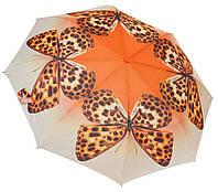 "Яркий женский зонтик ""Бабочки""  3551/3"