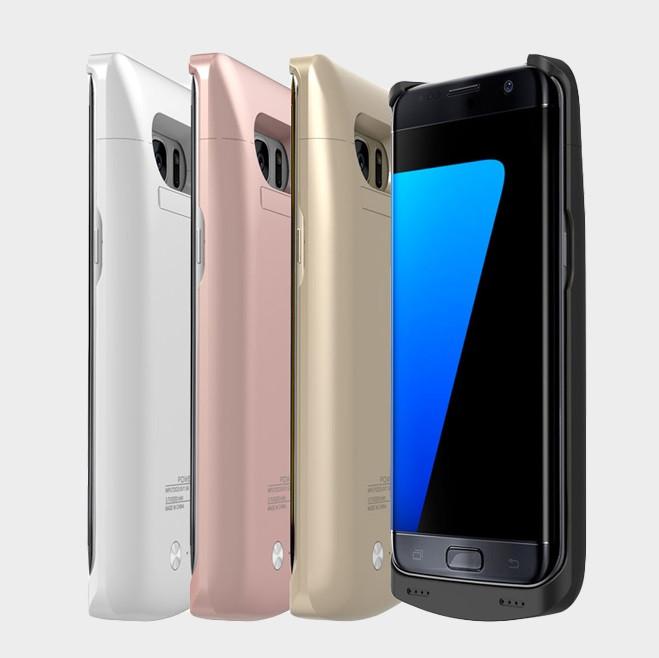 Samsung G950F S8 оригинальный чехол батарея аккумулятор со встроенным аккумулятором 5200 мАч