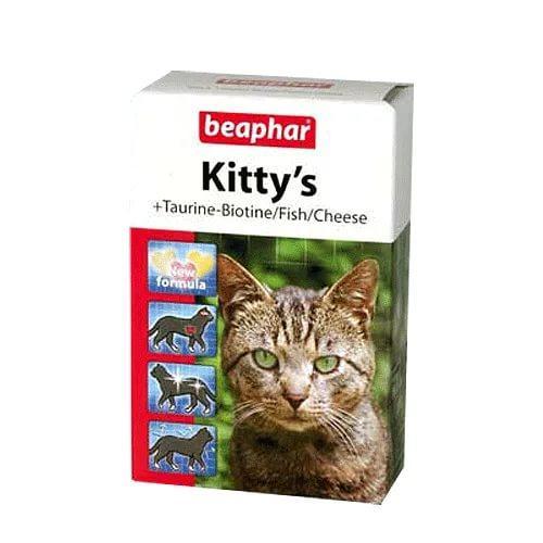 Kitty's Mix ласощі з таурином і біотином, сиром і протеїном в одній пачці Beaphar
